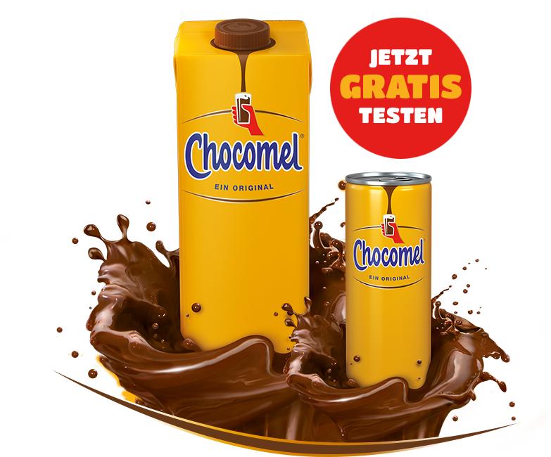 GRATIS testen 100% Cashback auf Chocomel Schokomilch [GzG]