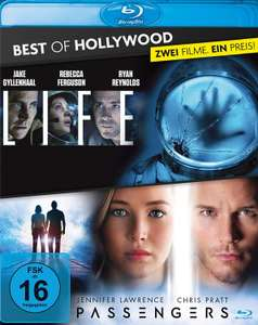 Life + Passengers Best of Hollywood Collection (2 Discs Blu-ray) für 7,99€ bzw. 6,80€ (Müller)