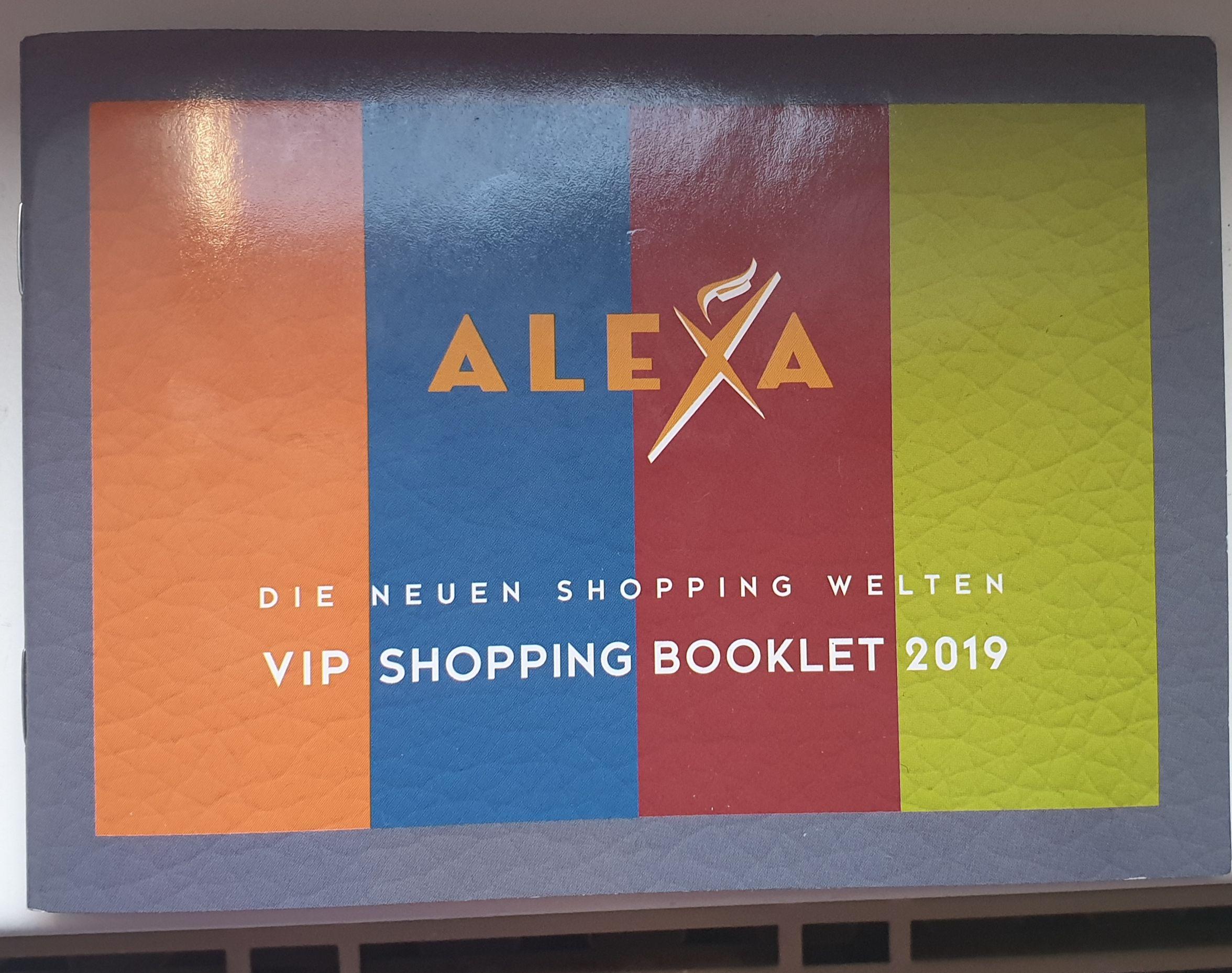 Lokal Berlin Alexa Sammeldeal Gutscheinheft u.a. mit 10% für McDonalds,  Elbenwald, Northface