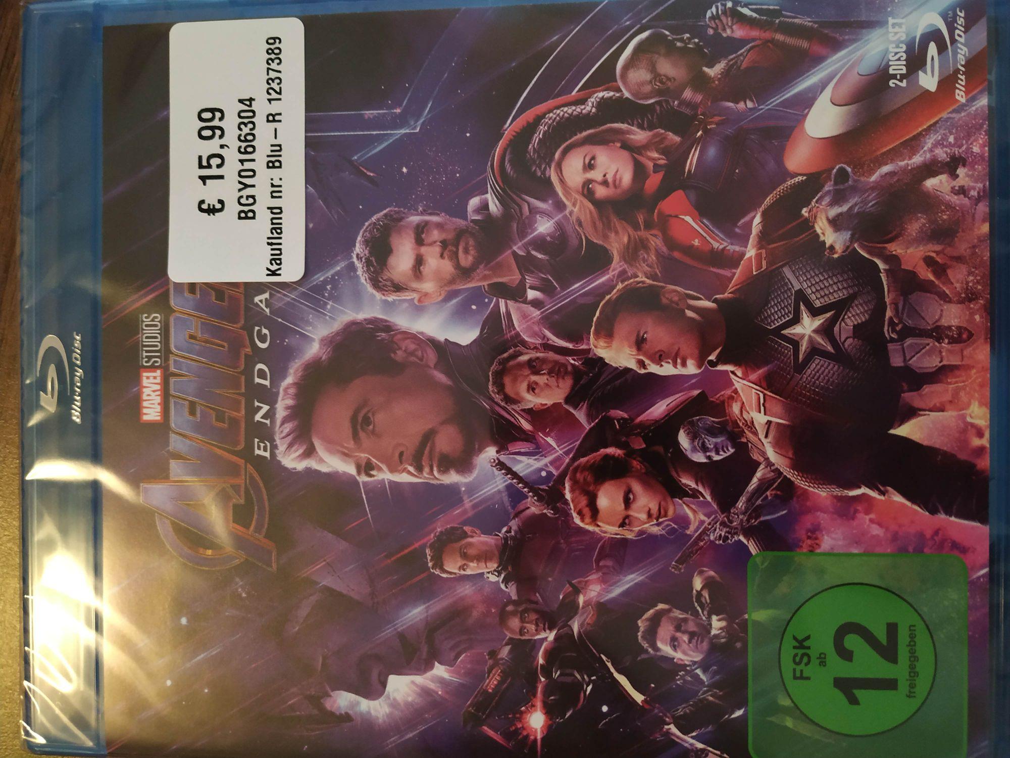 [LOKAL Kaufland Hamburg/Nedderfeld] Avengers Endgame Blu Ray