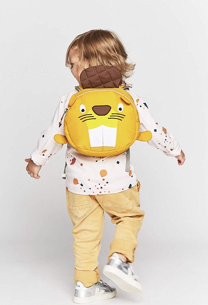 Affenzahn Kinderrucksack für 1-3 Jährige im Kindergarten [Amazon Blitzangebot / Prime]