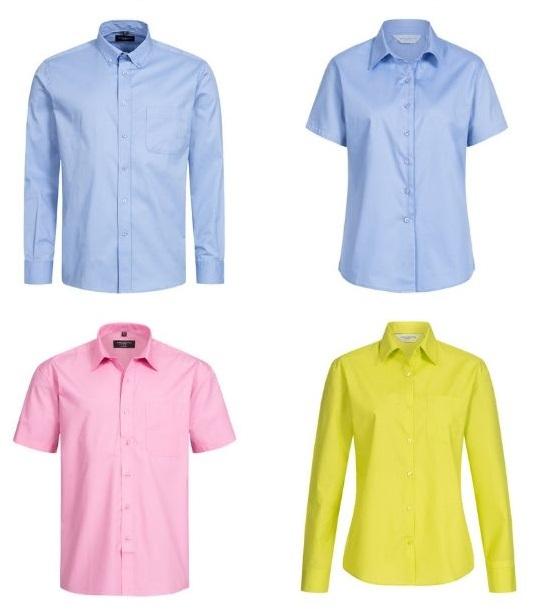 Russel Hemden für Damen und Herren je 5,49€ + 3,95€ Versand - 100% Baumwolle