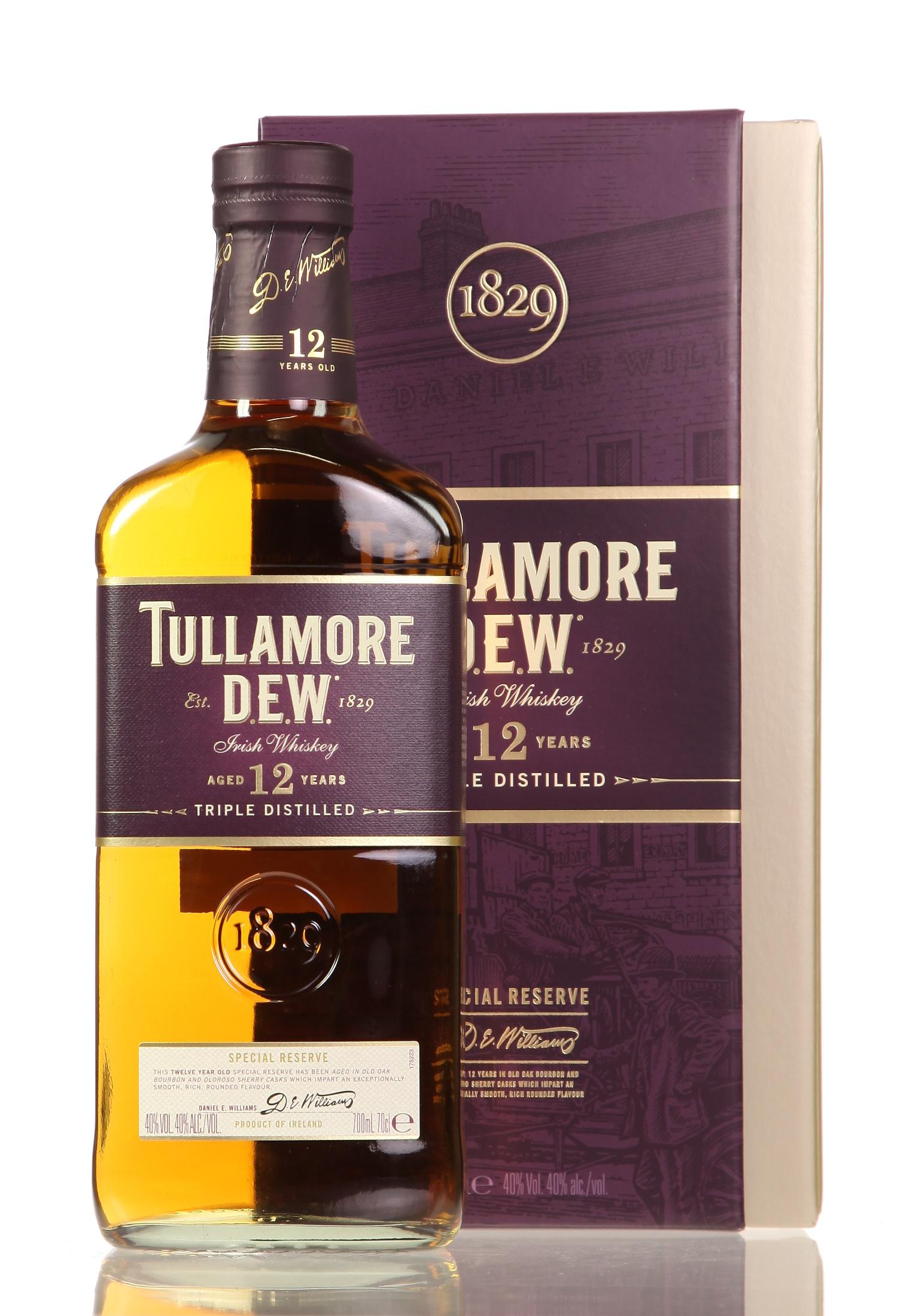 Tullamore Dew 12 Years Special Reserve Irish Whiskey   0,7l 40% bei [Real.de] mit Marktanlieferung für