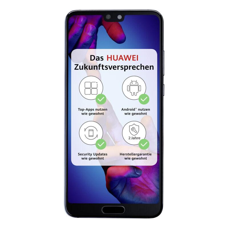 Huawei P20 Dual SIM Schwarz oder Blau