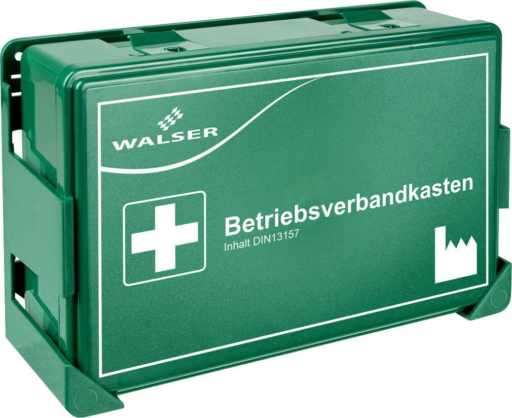Walser Betriebsverbandkasten mit Wandhalterung für 4,99 Euro [Kaufland]