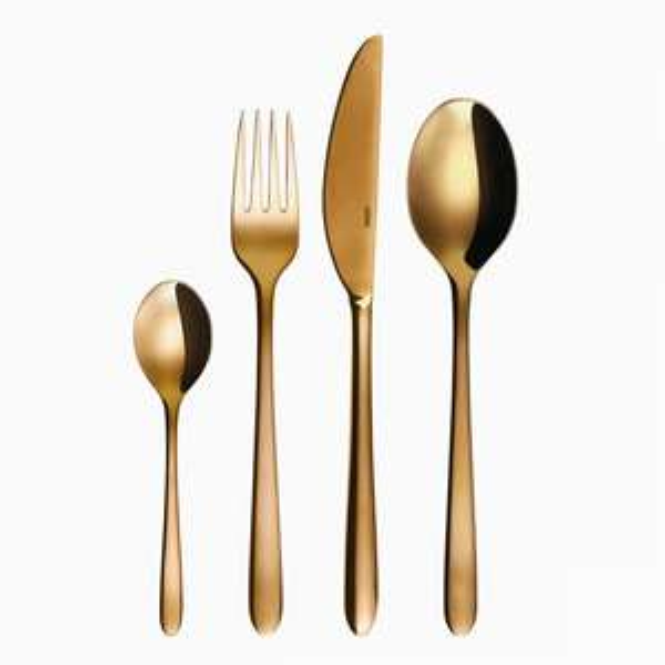 Sola Besteckset Gold Montreal 24tlg. Edelstahl 18/10