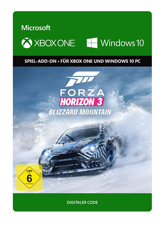 Forza Horizon 3: Blizzard Mountain DLC (Xbox One/PC Play Anywhere) für 3,99€ (Xbox Store Live Gold)