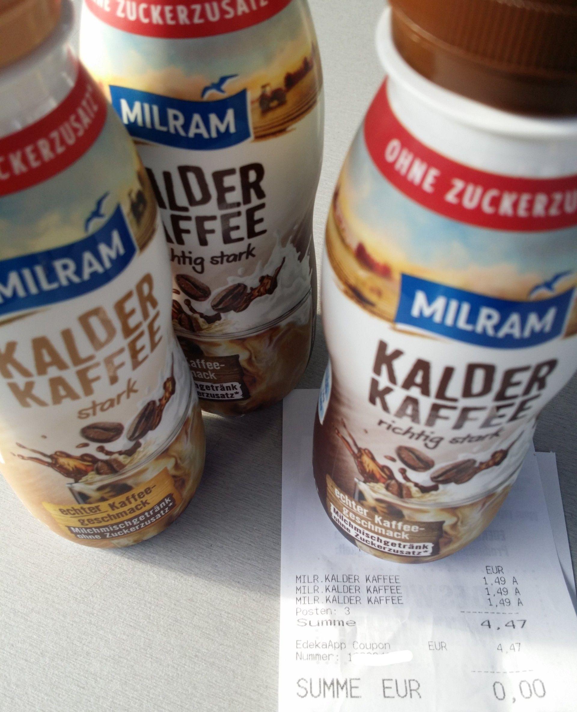 Milram Kalder Kaffee endlos Freebie durch xfach Coupon in Edeka App [ggf. lokal]