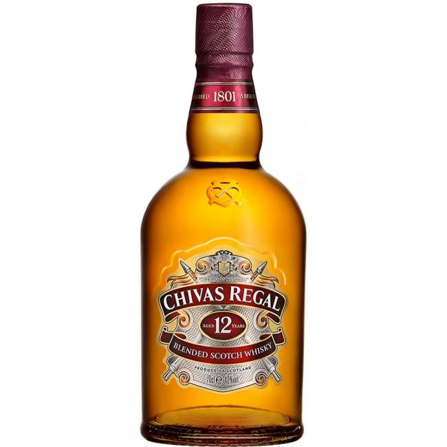 Chivas Regal 12 Jahre Blended Scotch Whisky | 0,7l 40% + Tumbler bei [Real.de] mit Marktanlieferung für