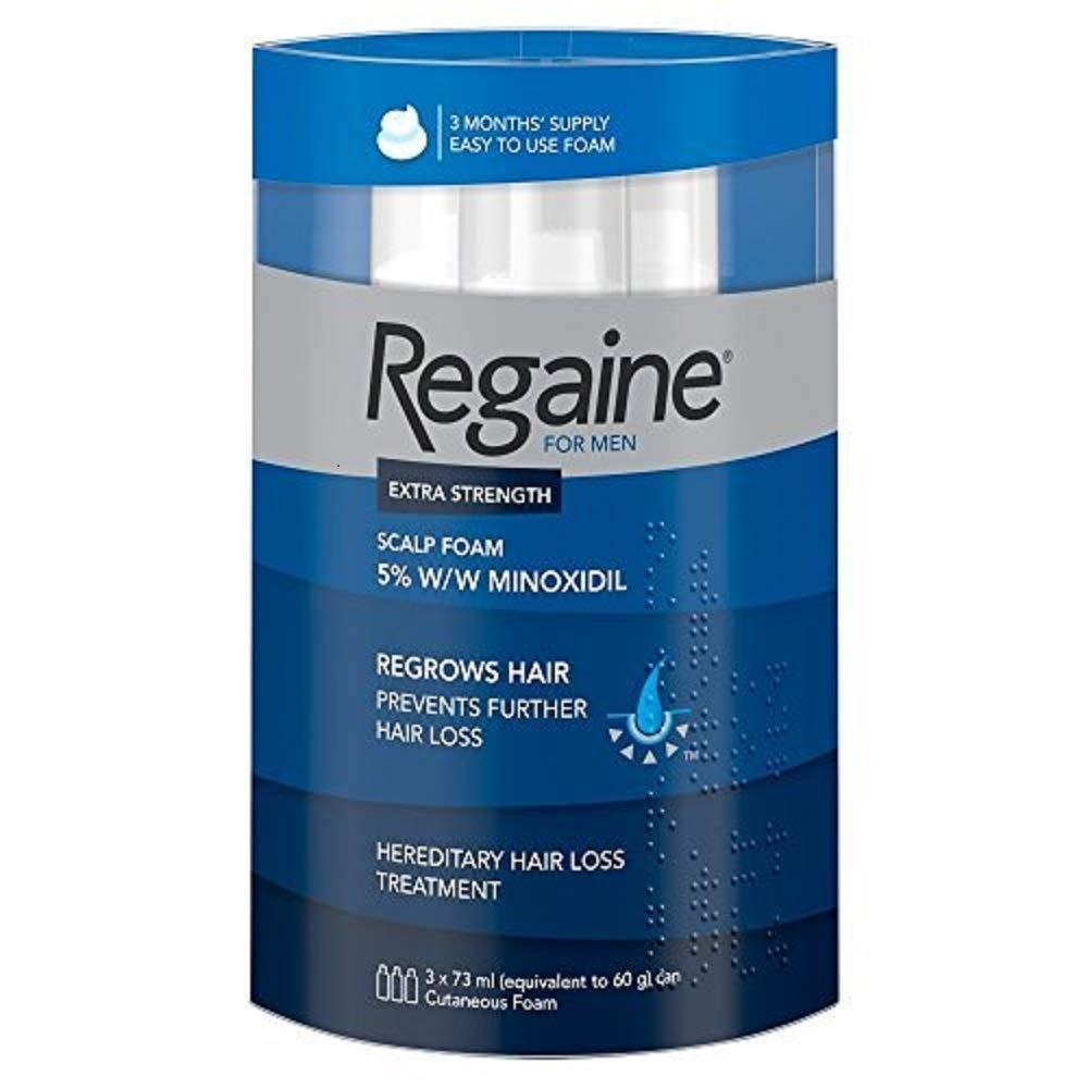 Regaine Männer Schaum 5 % (3 x 73 ml) [Amazon UK]