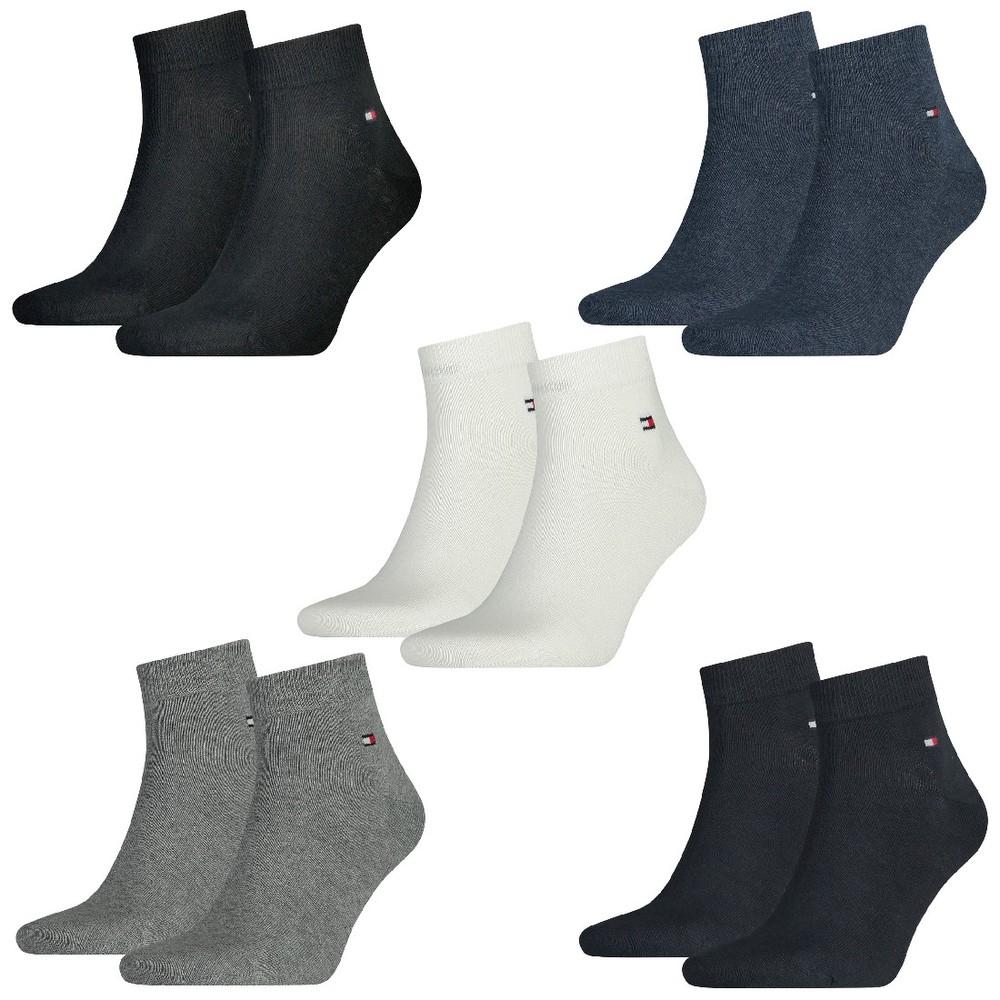 [RAKUTEN MASTERPASS] 12 Paar TOMMY HILFIGER Quarter Socken Gr. 39-46