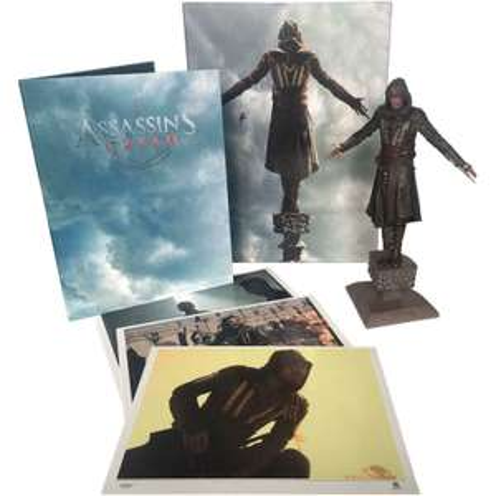 Assassin's Creed Collector's Edition Statue 35 cm + Backdrop Diorama + 3 Kunstdrucke