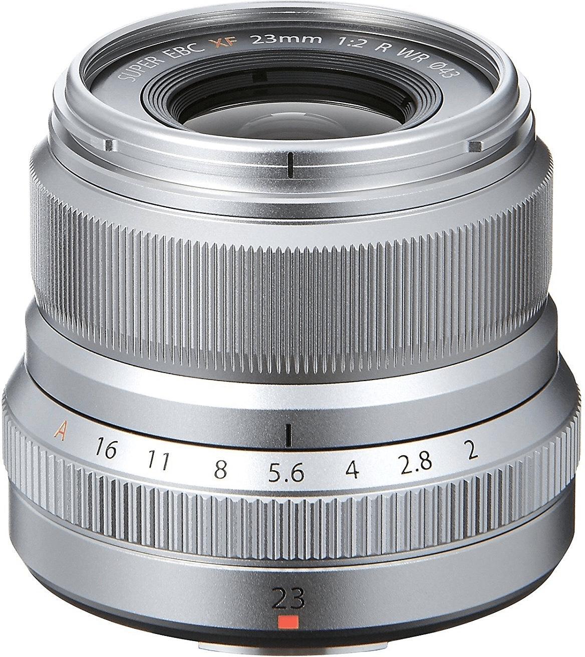 Fujifilm Fujinon XF23F2 Silber Objektiv