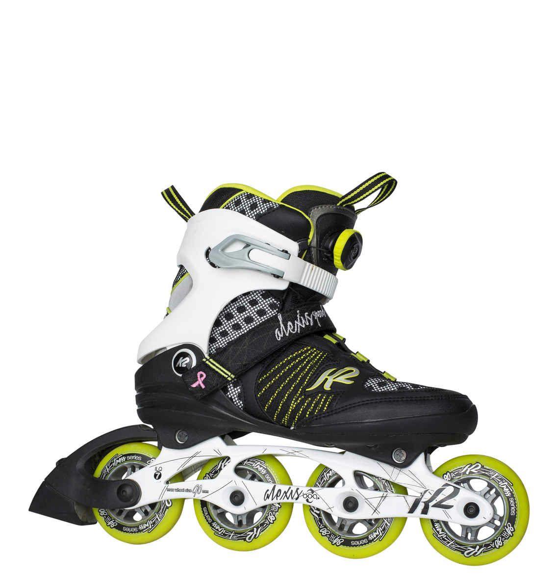 """K2 Inline Skates """"ALEXIS 84 SPEED BOA W"""" Gr. 4 (US)"""