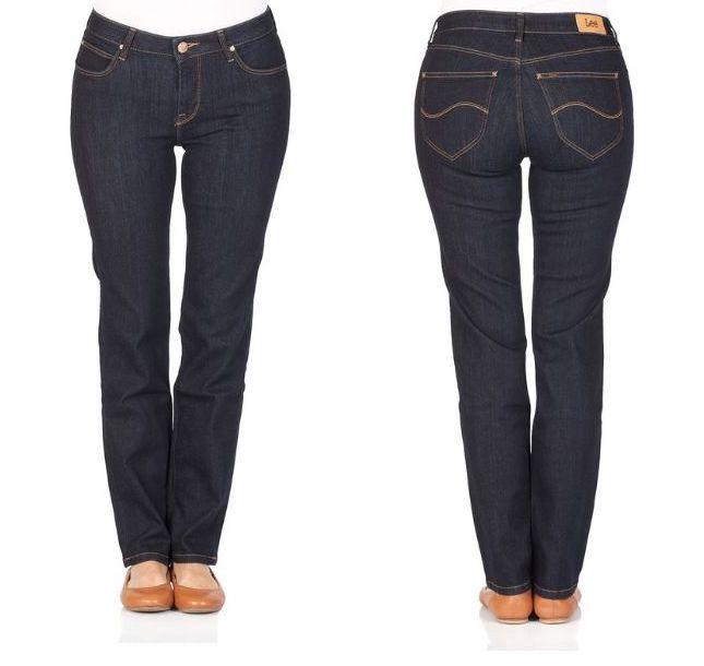 Lee Damen Jeans Marion - High Waist - One Wash
