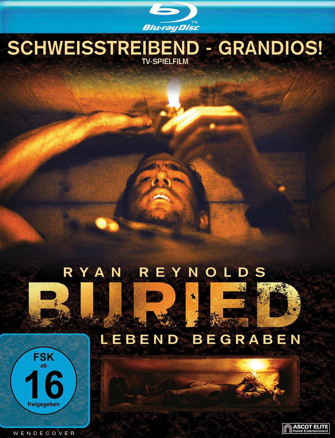 [ebay - mecodu] Buried: Lebend begraben (Blu-ray) für 3,68€ inkl. Versand