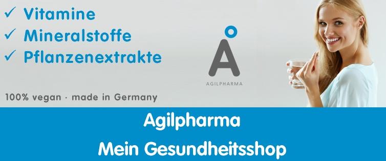 Agilpharma 20% Cashback + 20% Gutschein ab 30€ Warenwert + 10€ Shoop.de-Gutschein* ab 29€