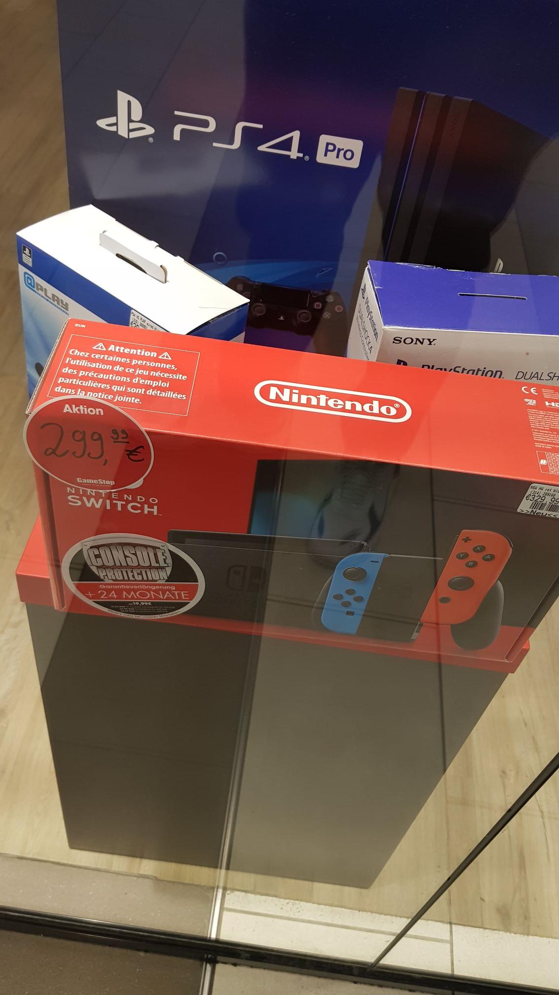 [Lokal] Aachen Gamestop (evtl. deutschlandweit) | Nintendo Switch (Neue Version) beide Farben
