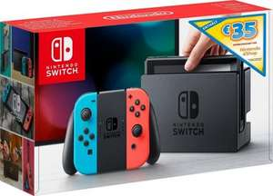 Nintendo Switch (Version 2017) bei Otto.de mit 35 € E-Shop-Guthaben