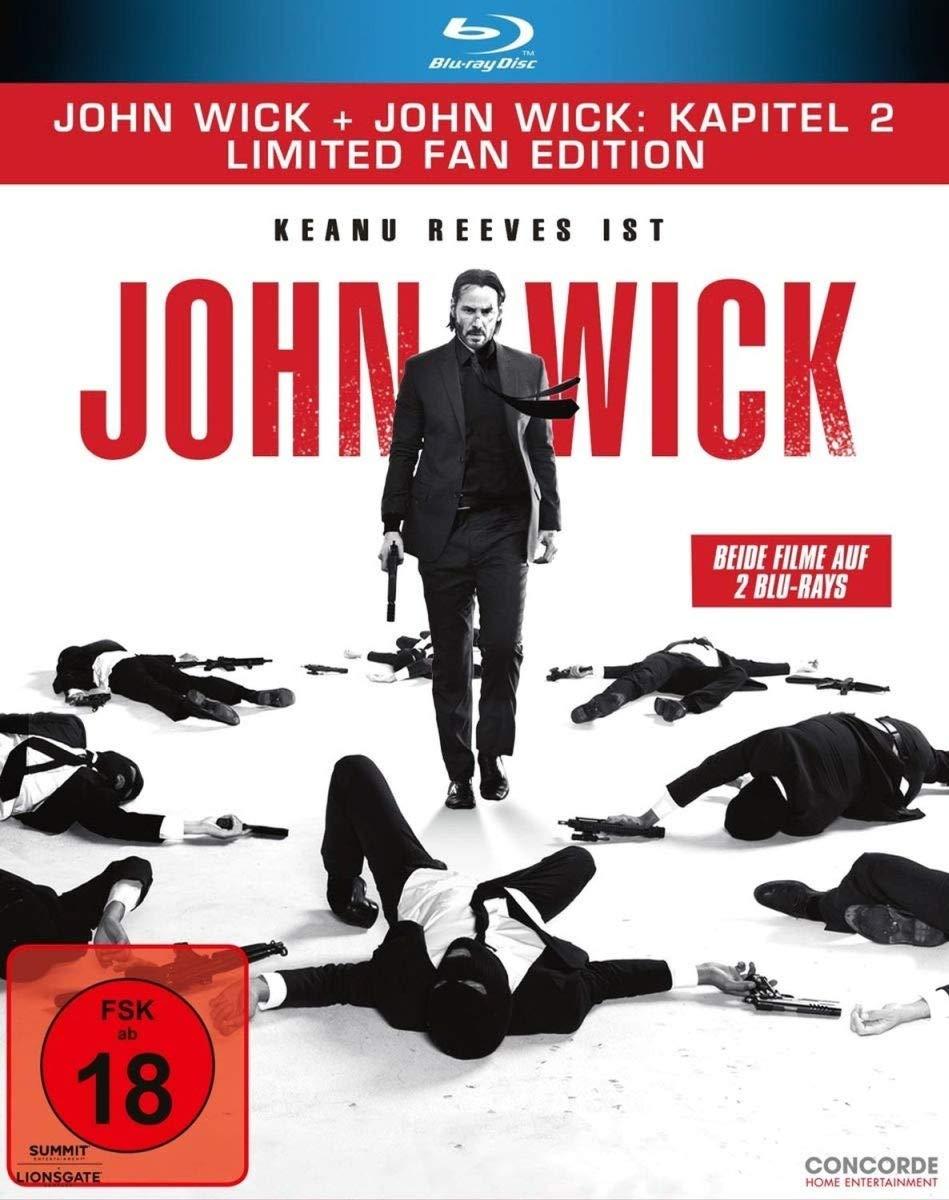 John Wick & John Wick: Kapitel 2 Fan Edition (Blu-ray) für 12€ (Media Markt & Amazon)