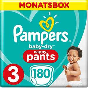 Pampers Baby-Dry Pants Gr 3 [Amazon] Spar-Abo