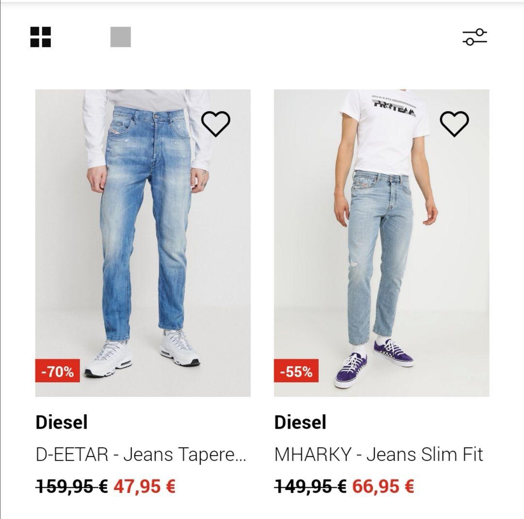 [Zalando] Diesel Jeans stark reduziert