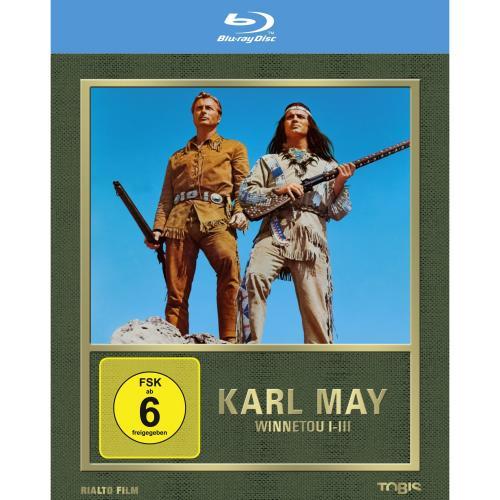 Winnetou 1-3 [Blu-ray] für 14,99 Euro @ Amazon.de
