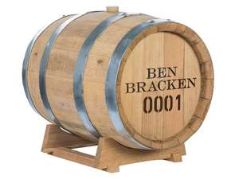 30l Whiskey im Fass von Ben Bracken zum selber reifen lassen
