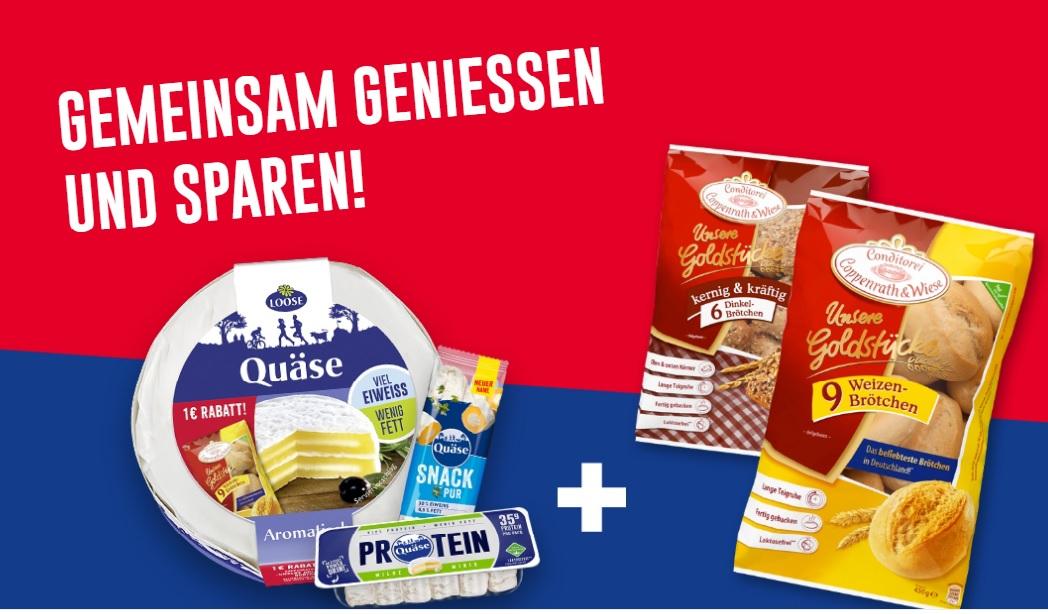 1€ Rabatt-Coupon für Coppenrath & Wiese Goldstücke in QUÄSE Aktionspackungen (oder kostenlos am Kühlregal)