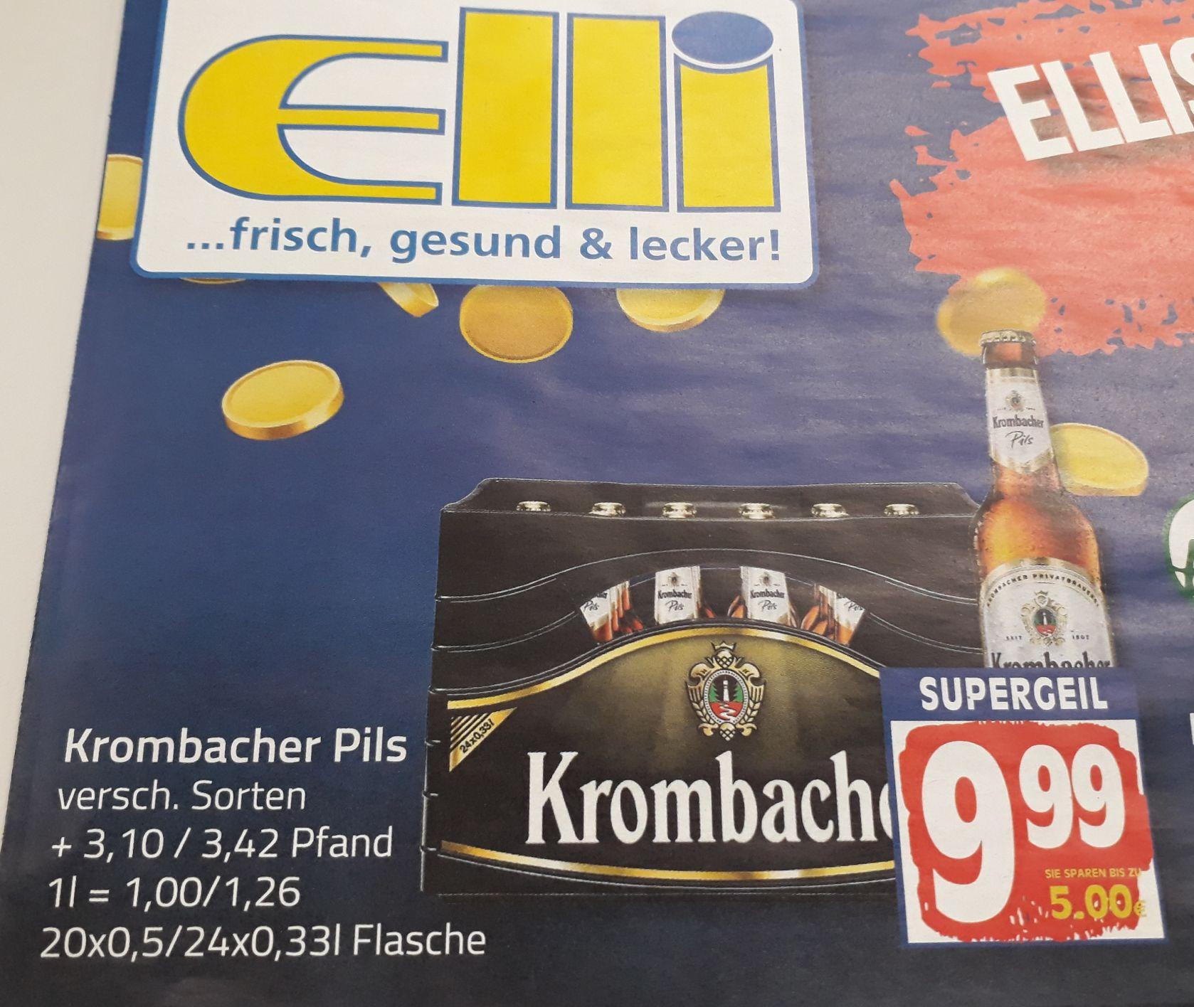 [Lokal Elli/Edeka Lüning] Krombacher Bier