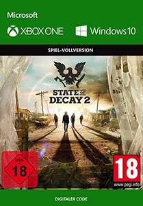 State of Decay 2 (Xbox One/PC Play Anywhere Digital Code) für 12,49€ (CDkeys)