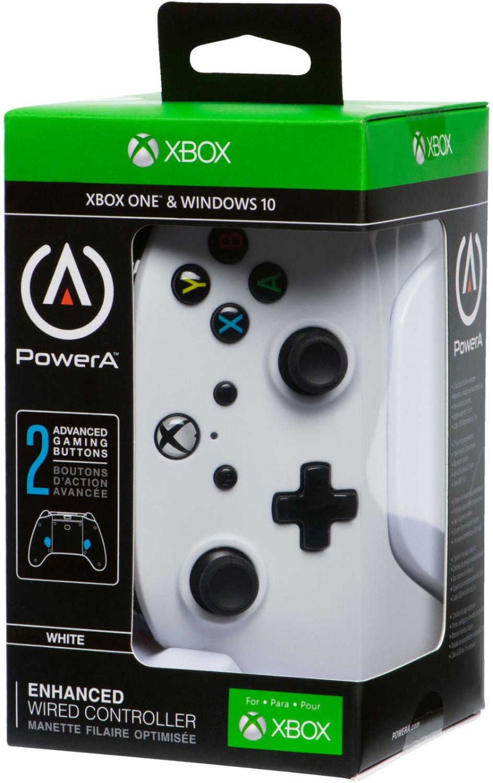 PowerA Xbox One & PC Enhanced Wired Controller (Weiß & Silber & Cosmos Nebula & Emerald Fade & Solar Fade) für je 21€ (Saturn)