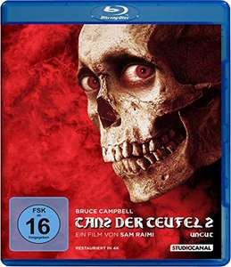 Tanz der Teufel 2 (Uncut Blu-ray) für 7,99€ (Amazon Prime & Saturn & Media Markt)