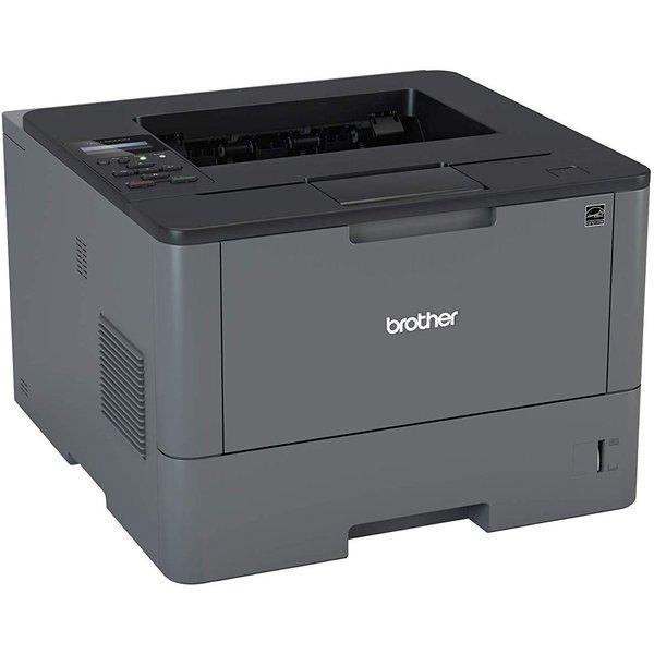 Mono-Laserdrucker Brother HL-L5000D (A4, bis 40 S/min, Duplex, USB 2.0, 3 Jahre erweiterte Garantie, Nachbautoner ab 0.5 Cent/Seite)