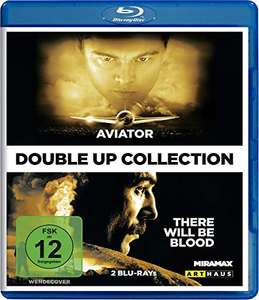Aviator + There Will Be Blood - Double-Up Collection (Blu-ray) für 6,99€ (Amazon Prime & Saturn & Media Markt)