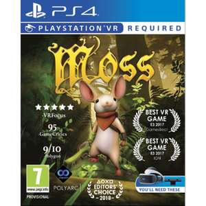 Moss PS4 Game (PSVR Required) [Shop4de]