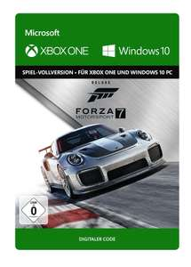Forza Motorsport 7 Deluxe Edition (Xbox One/PC Digital Code Play Anywhere) für 24,99€ & Ultimate Edition für 39,99€ (Xbox Store Live Gold)