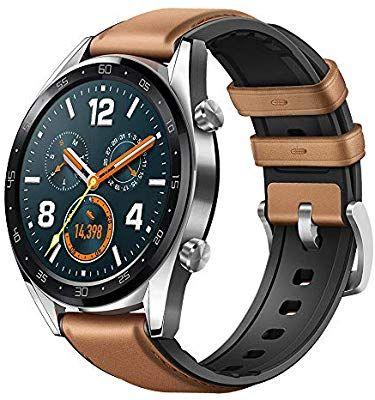 Huawei Watch GT Fashion - Uhr (TruSleep, GPS, Herzfrequenzmessung), Braun[Amazon.es]