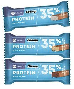 (17,85€/kg) CHAMP 35% Protein Bar, 24x35g!! Chocolate