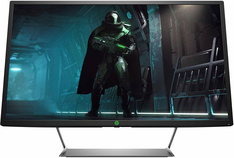 HP Pavilion HDR 32 Zoll QHD LED Gaming Monitor (AMD FreeSync, 2x HDMI, 1x DisplayPort, 2560 x 1440, 60Hz, 5ms) schwarz