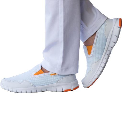 Kappa Malaga Sneaker Sportschuhe Slipper Foam Laufschuh atmungsaktiv weiss für 11,11€ inkl. Versand