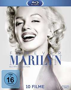 Forever Marilyn - Die Blu-ray Collection (10-Film-Set Blu-ray) für 27€ (Amazon Prime)