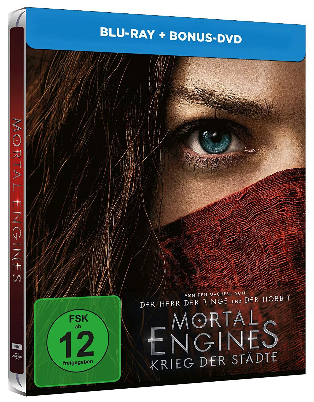 [Müller] Mortal Engines: Krieg der Städte (Blu-ray Steelbook) für 11,05€ bei Marktabholung (nicht in allen Filialen verfügbar)
