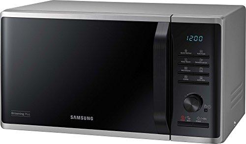 Samsung MW3500 MG23K3515AS/EG Grill Mikrowelle / 48,9 cm / Kratzfester Keramik-Emaille-Inneraum / 5 QuickDefrost Auftauprogramme [Amazon]