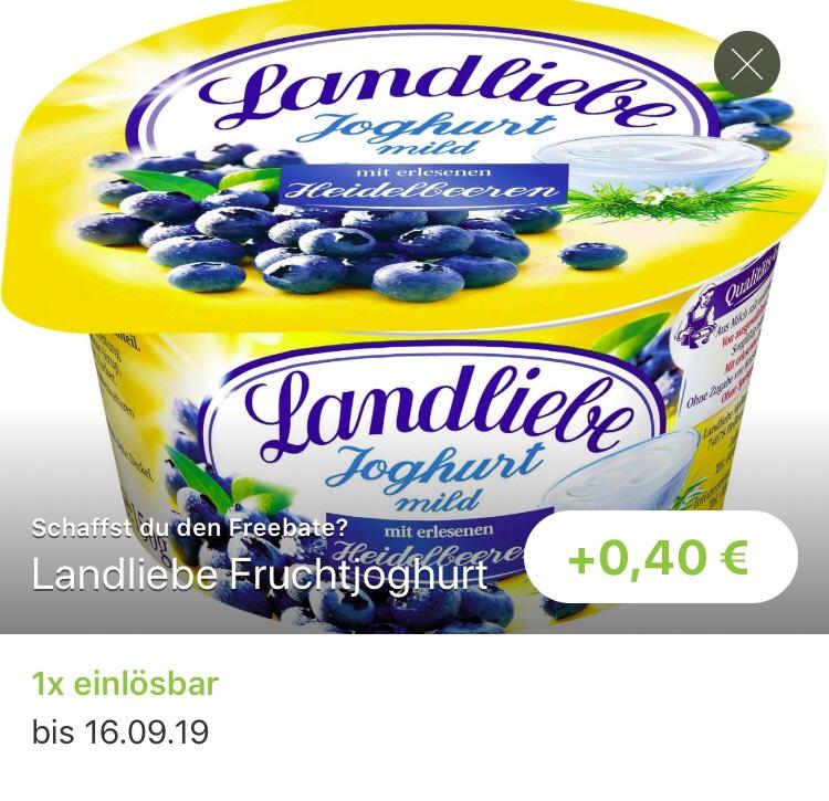 (Reebate Kaufland) Landliebe Fruchtjoghurt gratis