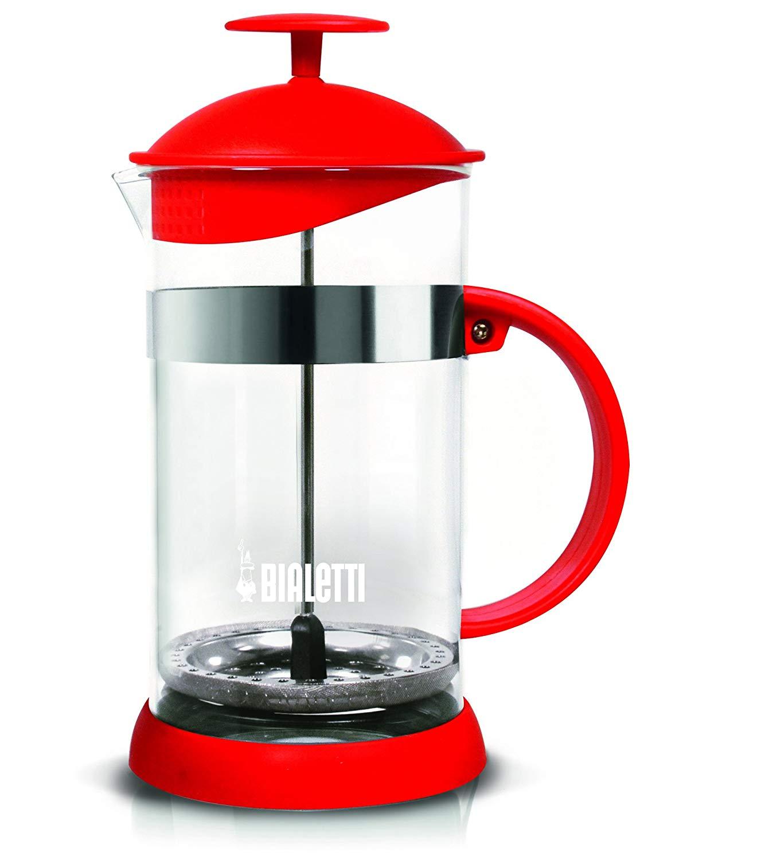 """Bialetti Kaffee und Teebereiter """"French Press Joy"""" (Rot, 1L) für 12€ bzw. 10,20€ (Müller)"""