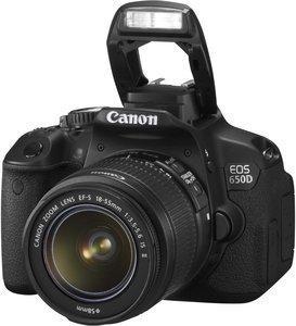 Canon Spiegelreflexkamera EOS 650 D + EF-S 18-55 IS II