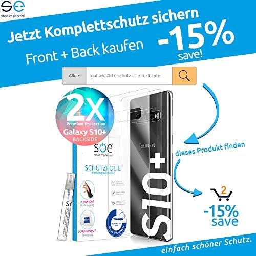 [Amazon Prime Deal] 3D Schutzfolien kompatibel mit Samsung Galaxy S10 Plus (2 Stück zu einem Peis im Set)