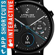 Free Android App: Watch Face - Ksana Sweep for Android Wear OS (4,4*) - Oberfläche für Android Wear Uhr [Google Play Store]