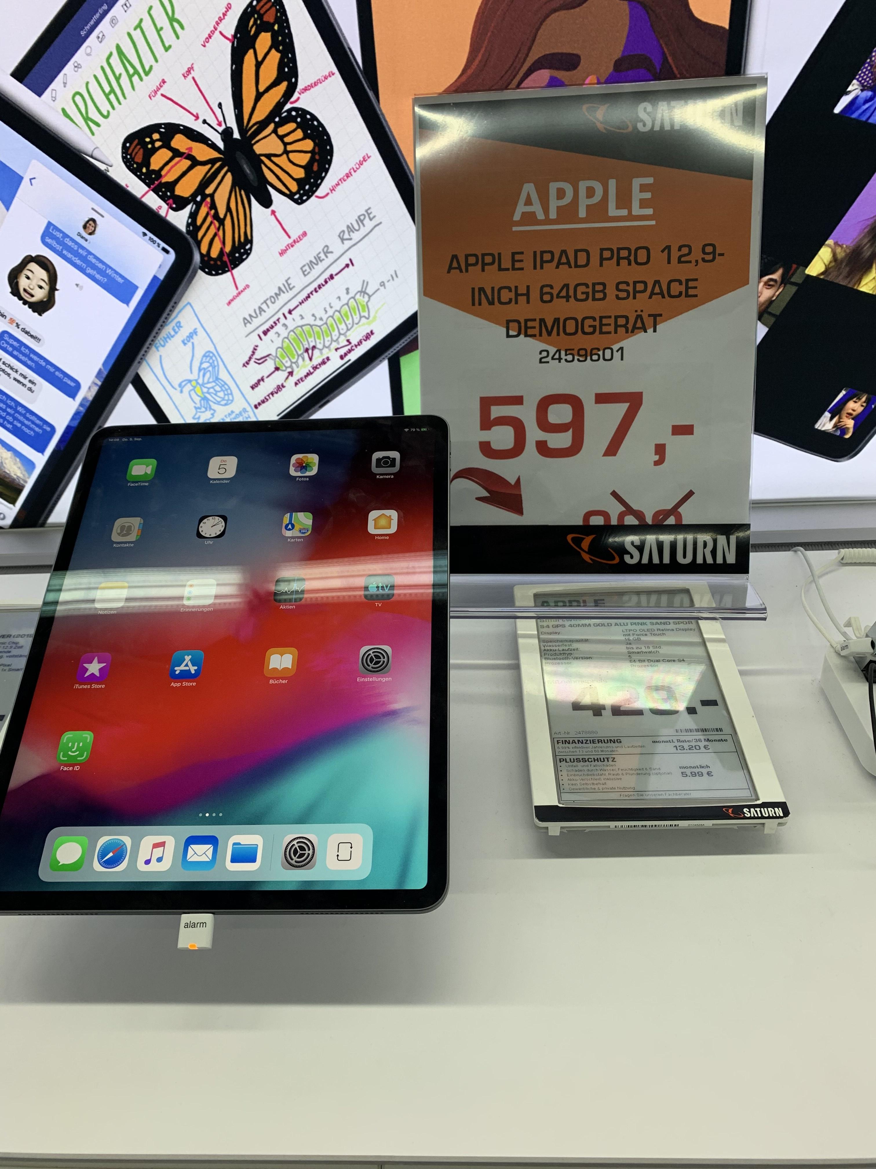 """[Lokal Saturn Lünen] iPad Pro 12,9"""" 3. Generation Aussteller"""